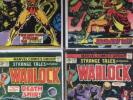 Strange Tales 178, 179, 180, 181 Higher Grade Marvel Lot, First Gamora