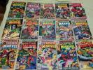 CAPTAIN MARVEL #27, 28, 32, 33, 35, 36, 43, 46 - 51, 57 & 60
