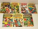 % 1960-80'S MARVEL CAPTAIN AMERICA COMIC BOOK COLLECTION LOT B-57