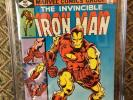 LOT OF TWO  CGC IRON MAN  comics 117  9.8 and 126 9.4 both white pages 1978 1979