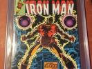 Iron Man 122 CGC 9.4 White Pages Cockrum Cover Art