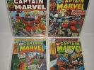 Captain Marvel 31 33 46 57 Thanos Bronze Age Marvel 1974 Lot