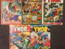 The Mighty Thor # 197 198 199 200 201 Marvel Mark Jewelers Lot (Series 1)