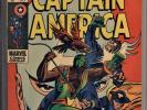 CAPTAIN AMERICA #118 CGC 7.0 SS BY STAN LEE 2ND APP FALCON & REDWING-RED SKULL