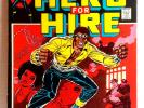 #1 LUKE CAGE HERO for HIRE Marvel Comic Book (First Issue)   Fine (LC-01)