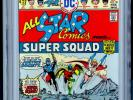 All-Star Comics #58 (Jan-Feb 1976, DC) CGC 9.6 First appearance of Power Girl