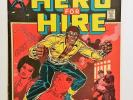 LUKE CAGE, HERO FOR HIRE 1 (Marvel Comics 1972) Key Origin Issue