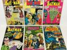 Batman #120,157,171,179, Detective #264,400 Lot (1st S.A. Riddler 6-issues) DC