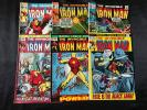 LOT OF 6 THE INVINCIBLE IRON MAN COMIC BOOKS #16 #22 #28 #44 #47 #53