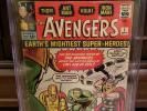 The Avengers #1 - 1963 - CGC SS 5.0 Stan Lee