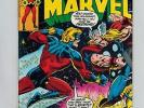 Captain Marvel 57 vs Thor  Thanos   VF+  Battle Issue  1978