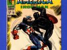 TALES OF SUSPENSE, CAPTAIN AMERICA BLACK PANTHER #98 VF- SILVER AGE MARVEL