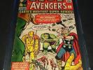 AVENGERS (1963) ISSUE 1 | CGC 5.0 | AVENGERS 1ST APPEARANCE & ORIGIN | LEE KIRBY