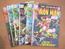 THE INVINCIBLE IRON MAN Comic Book Lot - #22,26,27,29,30,38 / Cry Revolution