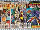 Lot of 9 Marvel The Invincible Iron Man Comics from #101 to 111 from 1977 & 1978
