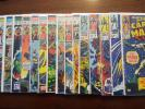 Captain Marvel lot of 17 books #1,4-7,10-11,18,29-31,34,40,42-43,46,57