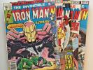 IRON MAN LOT OF 19 Mags...35/40 Cents....1978 to 1980...#115 to 137...See List