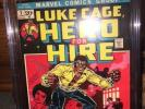 Hero for Hire #1 (Jun 1972, Marvel) CGC 8.0 VF Luke Cage first issue
