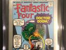 MARVEL MILESTONE EDITION FANTASTIC FOUR #5 CGC 9.6 SS 2X by STAN LEE & JOE SINOT