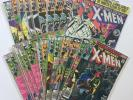 Uncanny X-Men Comic Book Set of 24  NM #114, 127, 128, 132, 133, 134, etc...