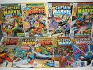 Marvel Comics Captain Marvel # 54 55 56 57 58 59 60 61 62 High Grade Run 7.5-9.0
