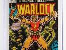Strange Tales #178 -NEAR MINT- CGC 9.4 NM -Marvel 1975- ORIGIN of Warlock