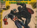 TALES OF SUSPENSE 98 CAPT AMERICA/BLACK PANTHER MARVEL READING COPY SILVER AGE