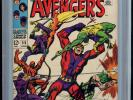 The Avengers #55 (Aug 1968, Marvel) signed by Stan lee cgc 9.0