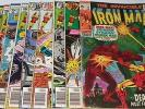 LOT of NINE IRON MAN bronze age. Includes No.'s 22, 79, 82, 113 - 117, 119 - 120