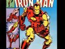 Iron Man #126 VF Autographed Michelinie Romita Jr & Layton Classic Cover Ant-Man