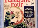 1961 Fantastic Four #1  CGC 2.5 The Fantastic Four and Mole Man 1st App