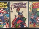 Captain America Lot Silver Age #110, 111, 112, 114, 115, 116, 118, 119-133