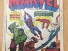 The  Mighty World of Marvel - UK Marvel Comics Weekly Issues No.1, 2 and 3