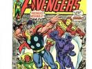 Avengers #122 (1973) Black Panther Captain America Iron Man Collector VF 8.0