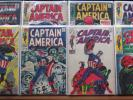 Marvel Captain America Comic Book LOT- 24 issues, Including # 100 & 118 1968-72