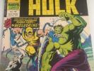 MIGHTY WORLD OF MARVEL UK - HULK #198 (JULY 1976) 1ST APP OF WOLVERINE #181 RARE