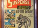 Tales Of Suspense #39 Marvel CGC 2.5 Origin & 1st Appearance Iron Man KEY BOOK