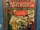 MARVEL COMICS THE AVENGERS #1 1963 CGC 3.0 UNIVERSAL - ORIGIN AND 1ST APPEARANCE