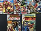 Marvel Invincible Iron Man #96,97,98,101&102 Lot Of 5.
