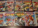 Iron Man Marvel Comics Lot #23 26 35 64 65 67 118 125 126 127 128 & More Keys