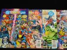 VF DC VERSUS MARVEL COMICS / MARVEL VERSUS DC COMICS #1-4 COMPLETE SET