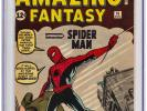 Amazing Fantasy #15 (Marvel, 1962) CGC VF Trimmed 1st Appearance of Spider-Man