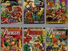 AVENGERS LOT 72 COMICS #126 THROUGH #200 THOR IRON MAN CAPTAIN AMERICA