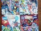 DC VERSUS MARVEL/MARVEL VERSUS DC 1-4 (OF 4), 1996, VF *** £23 ALL IN ***
