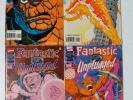Marvel / Fantastic Four Unplugged and Unlimited / 14 different comics / unread