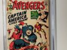 Avengers #4 CGC 3.5 VG- 1st Silver Age App Captain America 1964 - New Case