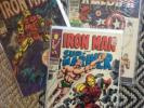 Estate lot 46 Comics IRON MAN #1, Captain America 100, Strange Tales, Stan Lee