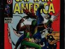 CAPTAIN AMERICA #118 CGC 7.5 SS STAN LEE NEW LABEL 2ND APP FALCON #1508474015