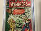 Avengers #1 1963 CGC 5.0 Slight B-1 Color Touch Off-White to White Pages
