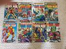 MARVEL COMICS LOT BRONZE-AGE IRON MAN 122-131 - EIGHT ISSUES HULK, ANT-MAN